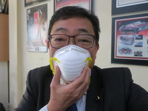 「防塵マスクが足りない。」②