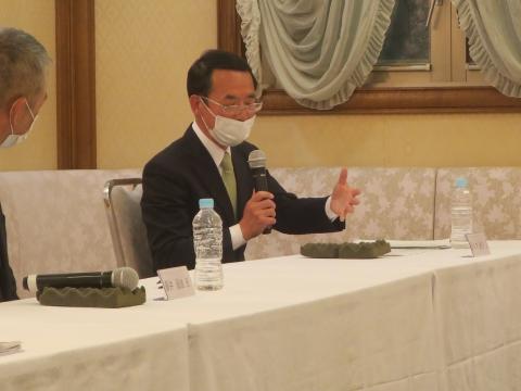 「石岡市長選挙立候補予定者ネット公開討論会」⑥