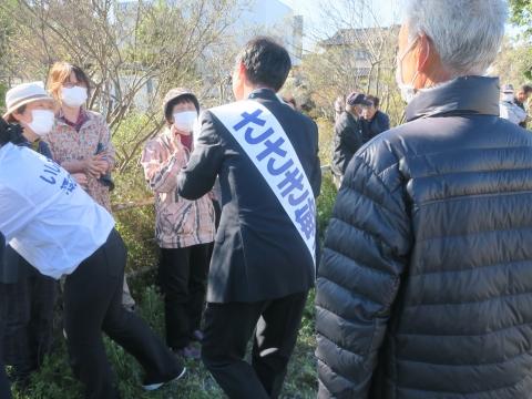 「石岡市長選挙 ささき敏夫」出発式⑯_R