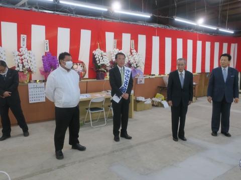 「石岡市長選挙 ささき敏夫」出発式⑱_R