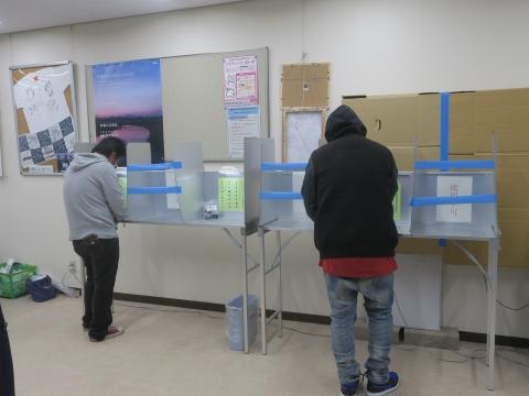 「石岡市長選挙期日前投票に行こう!」⑤