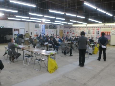 「ささき敏夫」街頭演説。片野・根当・林ヨークベニマル・東大橋ウェルサイト⑭_R