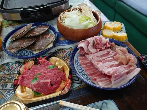 「父の日のプレゼント&焼き肉パーティー」③_R