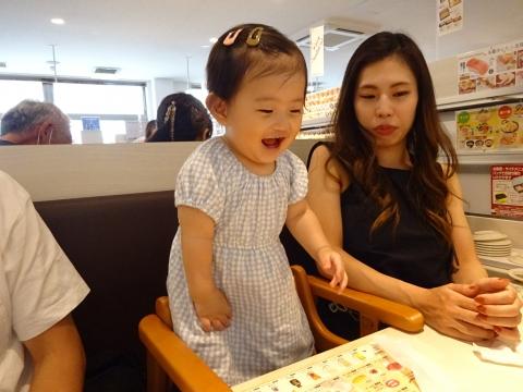 「柚ちゃん達と、魚べいに行って来ました!」④
