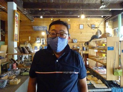 「すずめやでマスクを作ってもらいました!」⑦