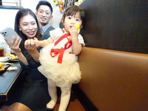 「柚&和之バースディーパーティー」一成土浦店⑰