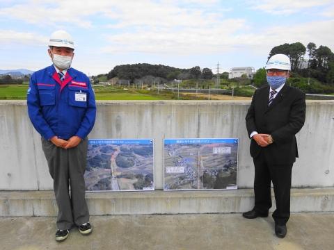 「国道6号千代田石岡バイパス」進捗状況視察⑩