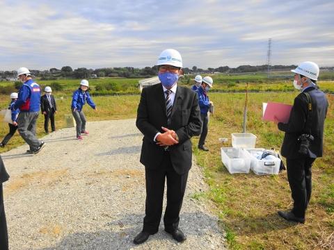 「国道6号千代田石岡バイパス」進捗状況視察⑫