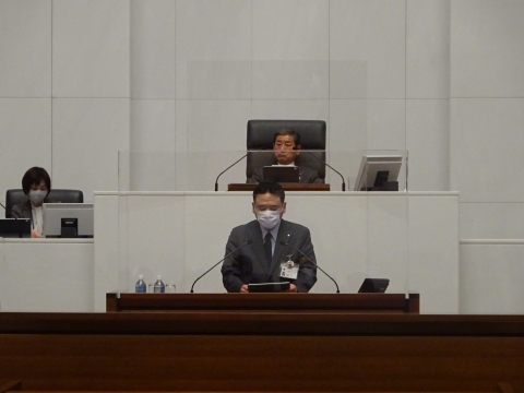令和2年12月2日「戸井田 和之一般質問」県政壇上へ登壇⑦
