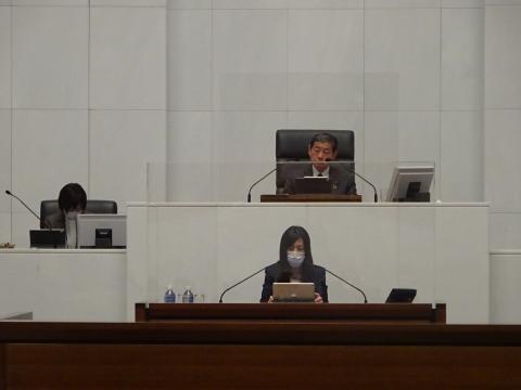 令和2年12月2日「戸井田 和之一般質問」県政壇上へ登壇④