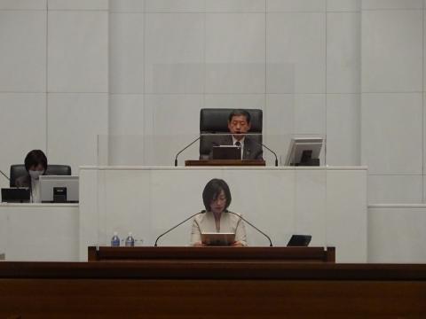 令和2年12月2日「戸井田 和之一般質問」県政壇上へ登壇⑥