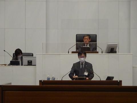 令和2年12月2日「戸井田 和之一般質問」県政壇上へ登壇⑧