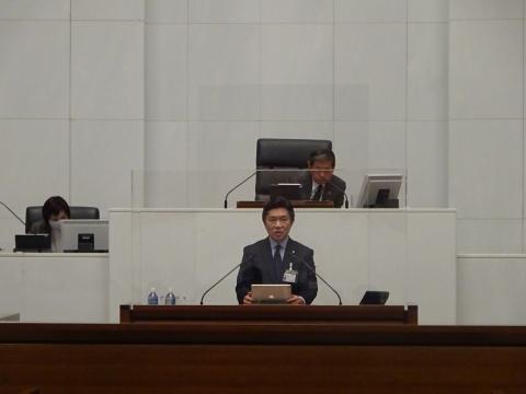 令和2年12月2日「戸井田 和之一般質問」県政壇上へ登壇⑤