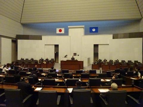 令和2年12月2日「戸井田 和之一般質問」県政壇上へ登壇⑨