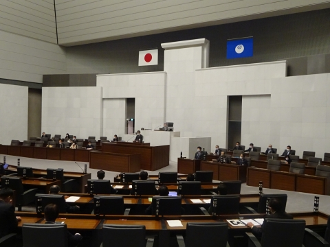 令和2年12月2日「戸井田 和之一般質問」県政壇上へ登壇⑩