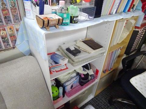 「カラーボックスに収納ボックスを設置してみました!」①