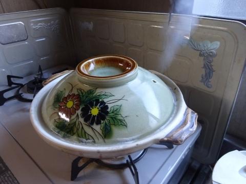 「ごま豆乳鍋つゆで、一人鍋をやってみました!」⑤