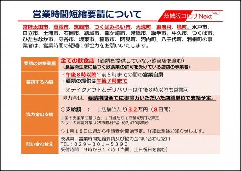 令和3年1月13日_【知事記者会見資料】時短要請等(石岡市継続・追加・解除)_000002