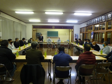 「恋瀬川氾濫対策の為の、光安寺橋架け替え工事についての「地元説明会」②