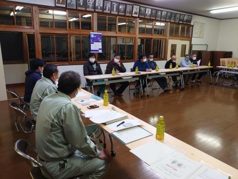 「恋瀬川氾濫対策の為の、光安寺橋架け替え工事についての「地元説明会」③