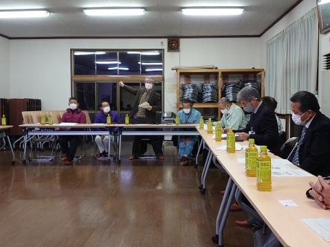 「恋瀬川氾濫対策の為の、光安寺橋架け替え工事についての「地元説明会」⑤