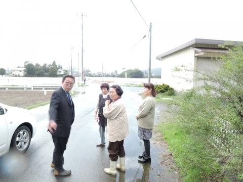 「恋瀬川氾濫対策の為の、光安寺橋架け替え工事についての「地元説明会」⑧ (6)