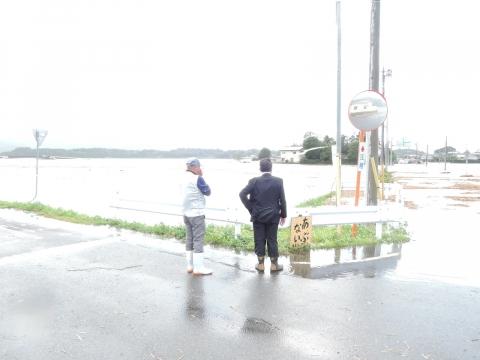 「恋瀬川氾濫対策の為の、光安寺橋架け替え工事についての「地元説明会」⑧ (7)
