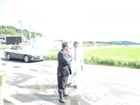 「恋瀬川氾濫対策の為の、光安寺橋架け替え工事についての「地元説明会」⑧ (9)