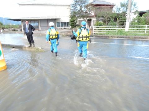 「恋瀬川氾濫対策の為の、光安寺橋架け替え工事についての「地元説明会」⑨ (5)