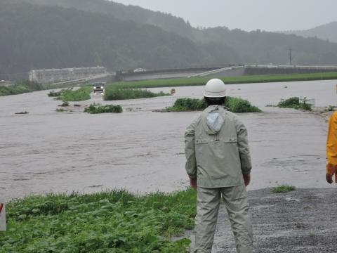 「恋瀬川氾濫対策の為の、光安寺橋架け替え工事についての「地元説明会」⑩ (16)