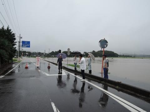 「恋瀬川氾濫対策の為の、光安寺橋架け替え工事についての「地元説明会」⑩ (18)
