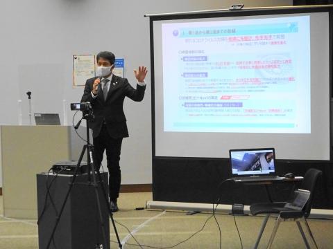 「茨城県議会災害対策会議」①