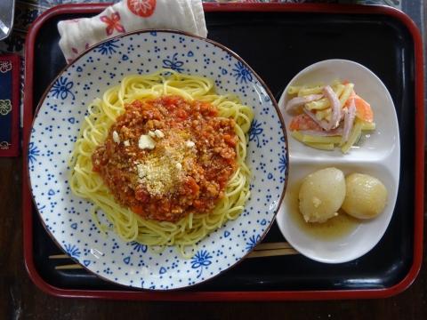 「ミートソーススパゲティ」①