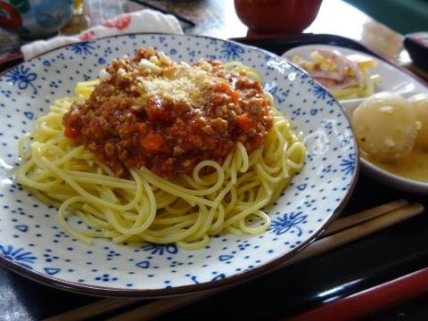 「ミートソーススパゲティ」②