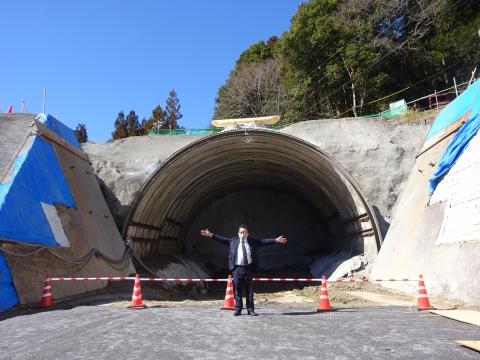 「上曾トンネル本体工事、安全祈願祭」③