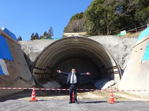 「上曾トンネル本体工事、安全祈願祭」⑩
