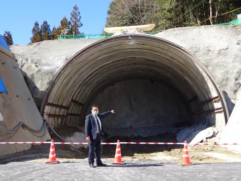 「上曾トンネル本体工事、安全祈願祭」⑨1