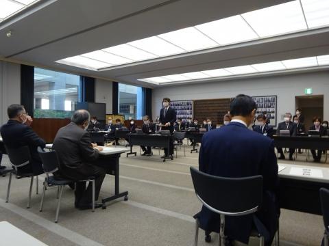 「内示会・総務会・選挙対策委員会・政務調査会」②