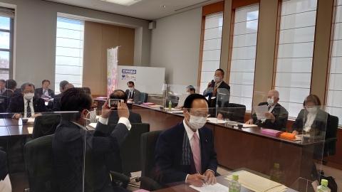 「内示会・総務会・選挙対策委員会・政務調査会」⑫