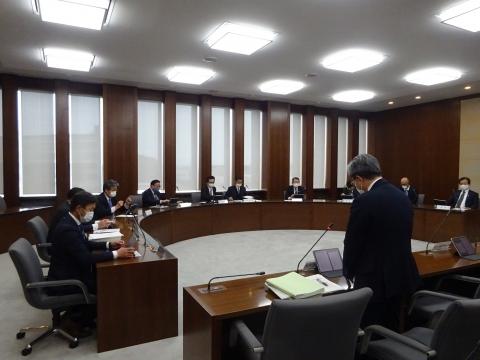 「第1回定例議会が始まり、議員会・情報委員会・政務調査会に出席しました。」⑦