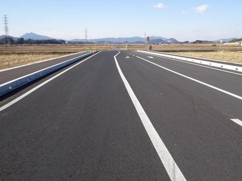 「県道飯岡石岡線、北根本交差点が改良され信号機が付きました!」 (10)