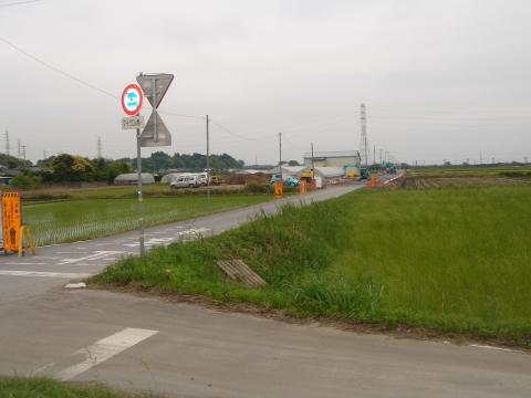 「11年前に始まった北根本交差点改良工事」⑥