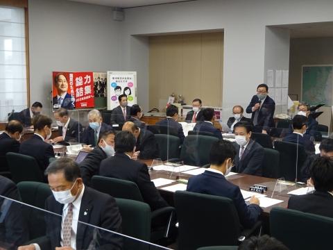 「自民党空港振興議員連盟」総会②