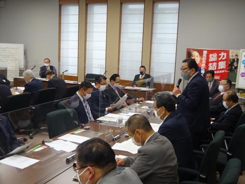 「自民党空港振興議員連盟」総会④