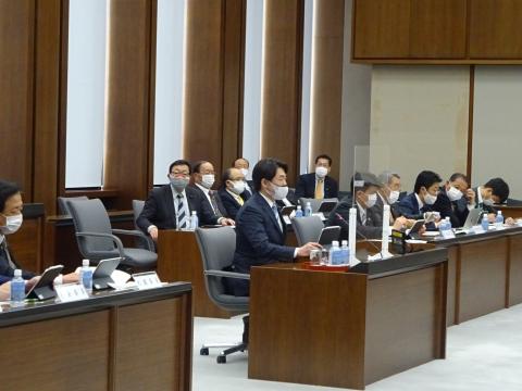 「予算特別委員会」2日目①