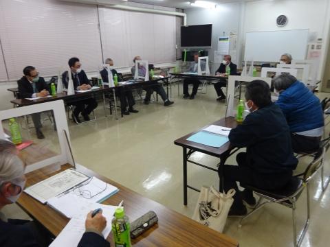 「石岡のおまつり振興協議会」本年度の祭礼検討会②