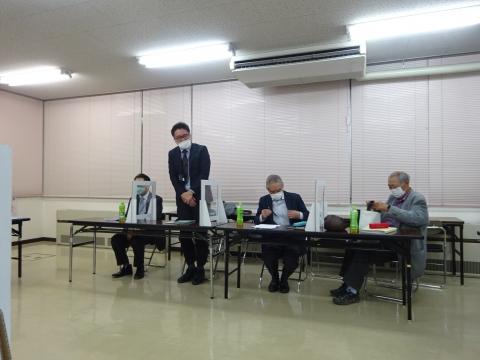「石岡のおまつり振興協議会」本年度の祭礼検討会④