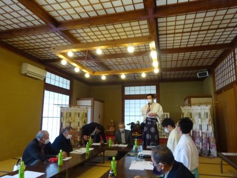 「第16回常陸國總社宮例大祭文化財検討協議会」①