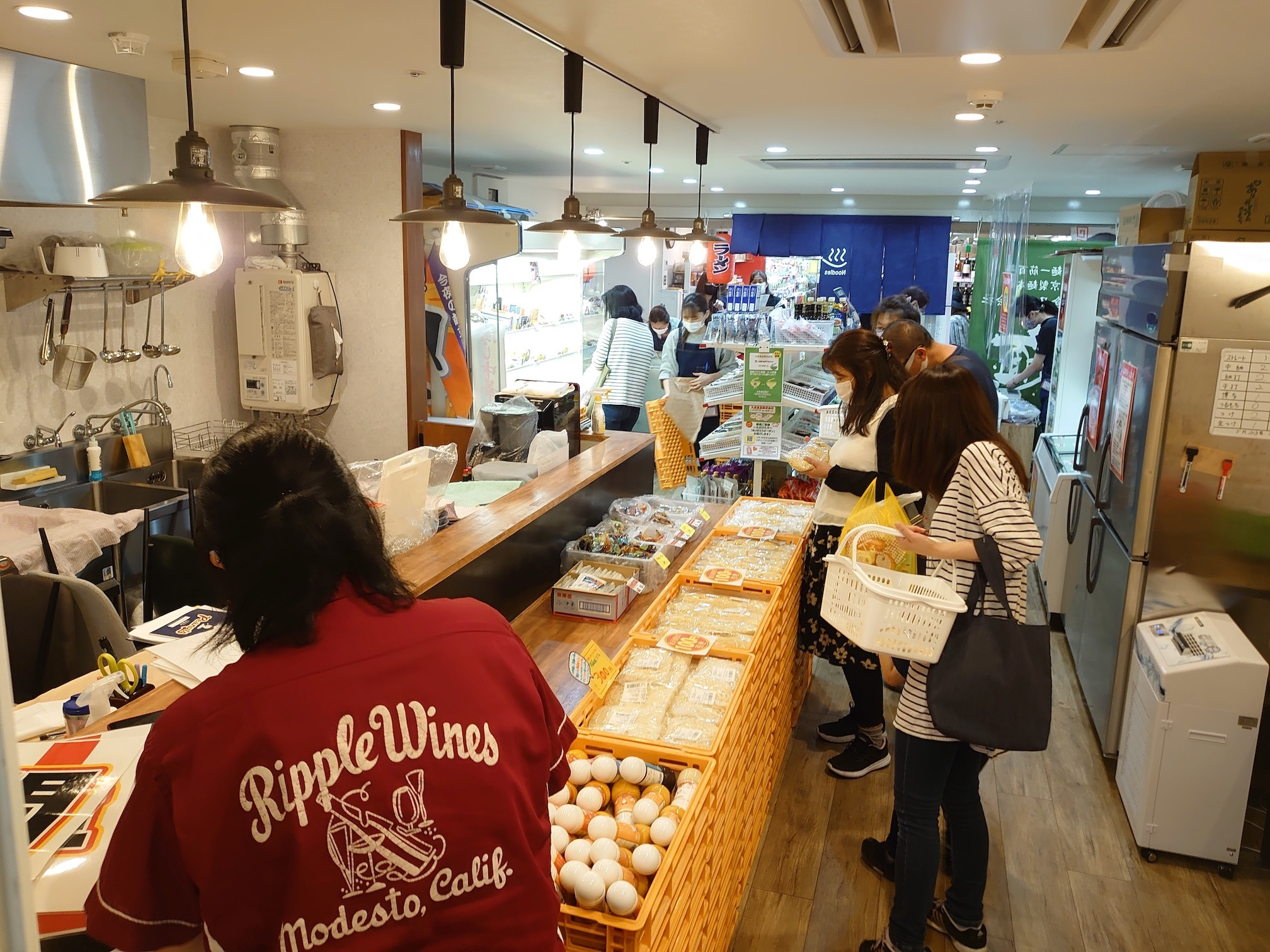出張麺市場@麺テイスティング・カフェショップ MENSTA
