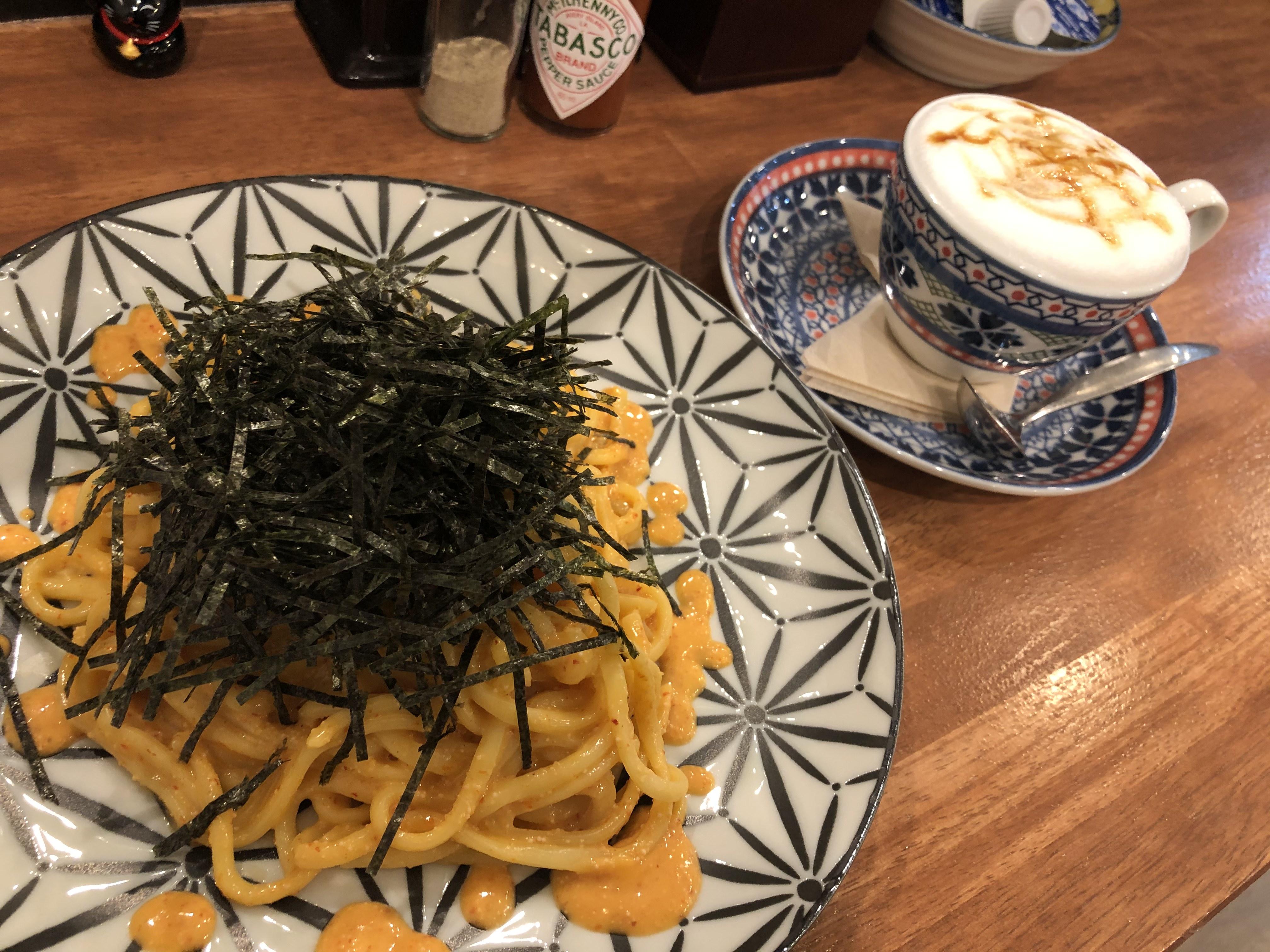 麺テイスティング・カフェショップ MENSTAカフェコーナー クリーミー明太子